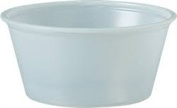 Dcc P325N Translucent Polystyrene Souffle Cup - 100ml