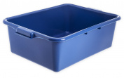 Carlisle N4401114 Comfort Curve Bus Box/Tote Box, 18cm High, Blue - 1 Each