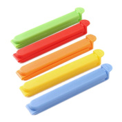 5 Pcs Food Bag Seal Clip Clamp Plastic Storage Sealing Rods Sealer Fresh Food Seal Stick Craft Bag Clips Air Tight Seal