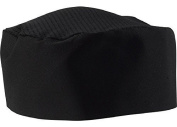 Black Chef Hat Adjustable - One Size Fit Most