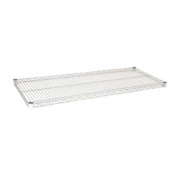 Focus Foodservice FF2454C Chromate Finished Wire Shelf, 60cm X 140cm , Zinc underplated Wire