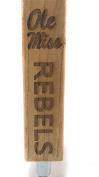 Ole Miss Rebels Beer tap Handle Engraved