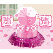 Baby Shower 'Baby Girl' Table Decorating Kit