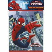 Spider-Man Plastic Loot Bags [8 Per pack]