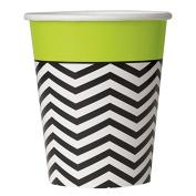 270ml Designer Chevron Party Cups, 8ct