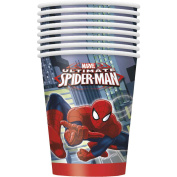 Spider-Man 270ml Paper Cups [8 Per Package]