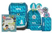 'Ergobag Cubo School Bag Set and Free Super Book Bea Bahadir Zau Bear
