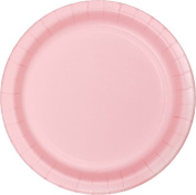 Party Creations Lunch Plates, 18cm , Classic Pink, 8 Ct