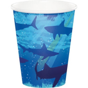 Party Creations Shark Splash Hot/Cold Cups, 270ml, 8 Ct