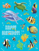 Access Ocean Party Value Stickers, 4 Ct