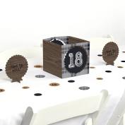 18th Milestone Birthday - Party Centrepiece & Table Decoration Kit