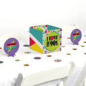 90's Throwback - 1990s Party Centrepiece & Table Decoration Kit