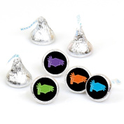Hats Off Grad - Graduation Round Candy Sticker Favours - Labels Fit Hershey's Kisses