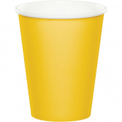 School Bus Yellow Paper Cups, 24-Pack