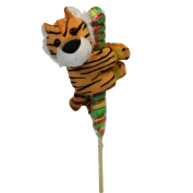 Tiger Hitcher with Lollipop