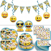 Emoji Party Supplies for 16