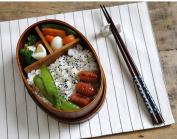 GuiXinWeiHeng 2pcs Wooden Sushi Lunchbox Eco-friendly wooden lunchbox