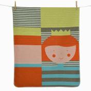 David Fussenegger Baby Blanket 95% Cotton 5% Viscose) Model Prizessin Size 90 cm x 70 cm