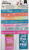 American Crafts Bible Journaling Stickers & Cards