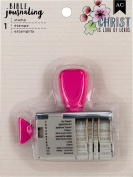 American Crafts Bible Journaling Roller Stamp