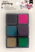 American Crafts Bible Journaling Ink Pads 6/Pkg