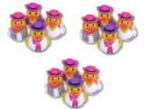 1 Dozen Cowgirl Style Rubber Ducks