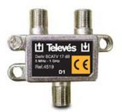 Televes 4519 – Internal Derivador Scatv 5 – 1000 MHz 17dB