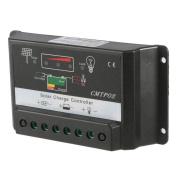 Vanpower 30A 12/24V Regulator with Inverter Solar Charge Discharge Controller Black