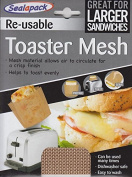 Sealapack Re Usable Toaster Mesh Cooking Pocket Pouch Sandwich Toaster Bag