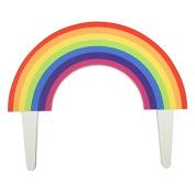 Rainbow Cake Topper - 114m - Gumpaste