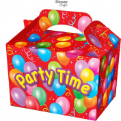 10 Party Boxes -Themed Character Cardboard Lunch Food Loot Treat Box - 20 Design