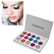 Sansee 15 Colour Shimmer Glitter Eye Shadow Powder Palette Matte Eyeshadow Cosmetic Makeup