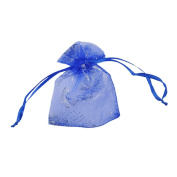 25PCS Butterfly Drawstring Organza Jewellery Pouches Wedding Party Christmas Favour Gift Bags Small 7.5cmx9.5cm