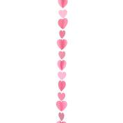 Amscan International 9902826 Tail Heart Balloon, Pink