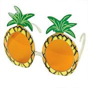 Jooks Sunglasses Pineapple Sunglasses Pineapple Glasses Hawaiian Adult Fancy Dress Costume Party Specs Accessory