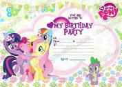 50 x My Little Pony birthday Party Invitations With 50 FREE Envelopes