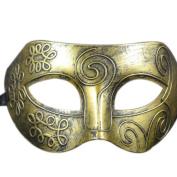 HARRYSTORE Retro Roman Gladiator Halloween Party Facial Masquerade Mask