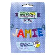 "Name Foil Balloons 16""/41cm Air Filled 'Jamie'"