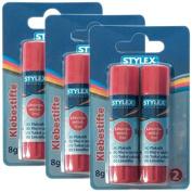Stylex Economy Pack (3x 2 Glue Sticks 8g, 31040