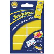 Sellotape SE04420 20mm x 40mm Removable Sticky Fixer