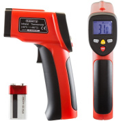 STALWART NON-CONTACT DIGITAL LASER INFRARED THERMOMETER W/ LCD SCREEN