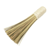 BESTOMZ Bamboo Cleaning Whisk Brush Household Kitchen Clean Tools with Comfortable Handle