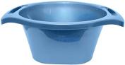 Ben and Jonah Plastic Wash Bowl Light Blue- 15cm H X 39cm W