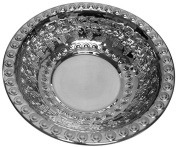 Ben and Jonah Wash Bowl Stainless Steel Grapes Design-30cm W X 7.6cm H