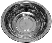 Ben and Jonah Wash Bowl Stainless Steel Ribbed Pattern-30cm W X 7.6cm H