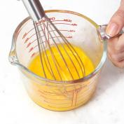 Creazy 500ML Glass Measuring Cup Durable Liquid Measurement Jug Kitchen Bar Baking Tool