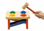 Woodyland 19 x 11 cm Didactic Toys Hammer with Balls