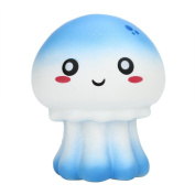 Squishy Toys, Sacow 11cm Cute Jellyfish Slow Rising Cream Scented Cute Vent Toys for Kids Adults Toys