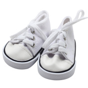 Canvas Lace Up Sneakers Shoes Ounice Sneakers Shoes for 46cm American Girl Dolls Boy Dolls