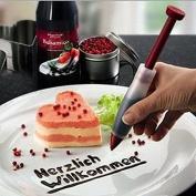 Zehui Plate Pen Silicone Cake Cookie Pastry Cream Chocolate Icing Decorating Syringe Decorative Pen